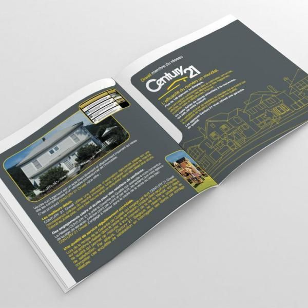 BROCHURE AGENCE IMMOBILIERE CENTURY 21