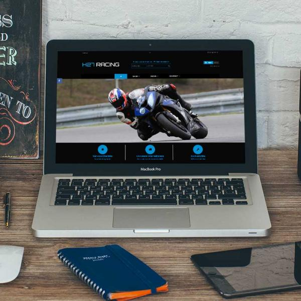 SITE E-COMMERCE MATERIEL MOTOS